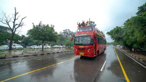 chandigarh hop on hop off bus