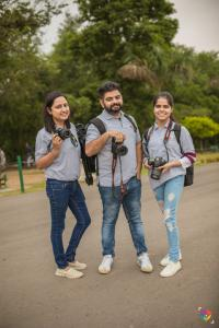Photography students